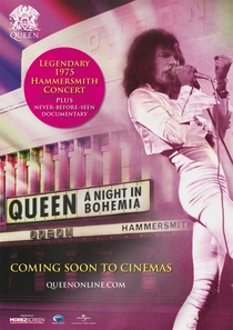 QUEEN - A NIGHT IN BOHEMIA - Poster / Capa / Cartaz - Oficial 1