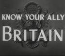 Conheça Seu Aliado: Reino Unido (Know Your Ally: Britain)