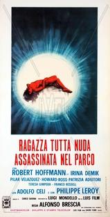Ragazza Tutta Nuda Assassinata nel Parco - Poster / Capa / Cartaz - Oficial 1