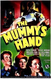 A Mão da Múmia - Poster / Capa / Cartaz - Oficial 1