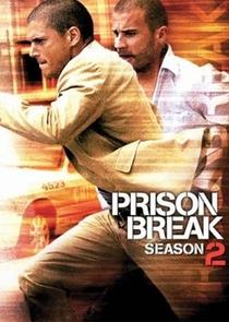 Prison Break (2ª Temporada) - Poster / Capa / Cartaz - Oficial 1