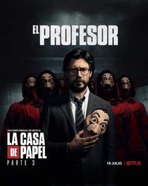 La Casa de Papel (Parte 3) - Poster / Capa / Cartaz - Oficial 6