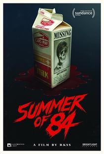 Verão de 84 - Poster / Capa / Cartaz - Oficial 1