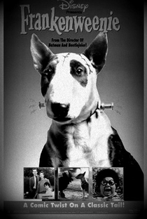 Frankenweenie - Poster / Capa / Cartaz - Oficial 1
