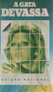 A Gata Devassa - Poster / Capa / Cartaz - Oficial 1