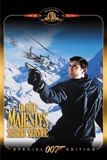 007 - A Serviço Secreto de Sua Majestade - Poster / Capa / Cartaz - Oficial 6