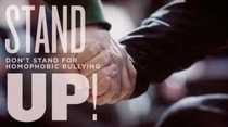 Stand Up! - Don't Stand for Homophobic Bullying - Poster / Capa / Cartaz - Oficial 1
