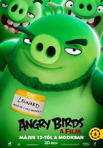 Angry Birds: O Filme - Poster / Capa / Cartaz - Oficial 15