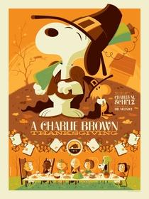 Charlie Brown e o Dia de Ação de Graças - Poster / Capa / Cartaz - Oficial 4