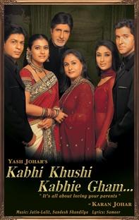 Kabhi Khushi Kabhie Gham... - Poster / Capa / Cartaz - Oficial 1