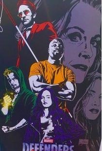 Os Defensores (1ª Temporada) - Poster / Capa / Cartaz - Oficial 6
