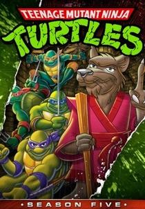As Tartarugas Ninja (5ª Temporada) - Poster / Capa / Cartaz - Oficial 1