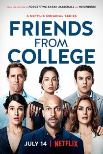 Amigos da Faculdade (1ª Temporada) - Poster / Capa / Cartaz - Oficial 1