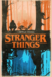 Stranger Things (1ª Temporada) - Poster / Capa / Cartaz - Oficial 8
