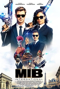 MIB: Homens de Preto - Internacional - Poster / Capa / Cartaz - Oficial 5