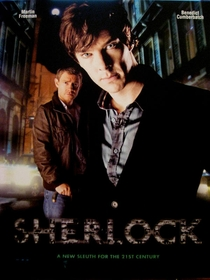 Sherlock Episódio Piloto - Poster / Capa / Cartaz - Oficial 1
