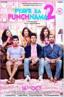 Pyaar Ka Punchnama 2 - Poster / Capa / Cartaz - Oficial 1