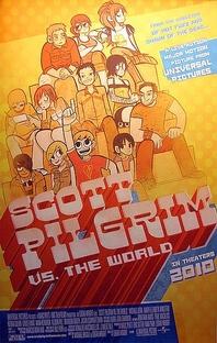 Scott Pilgrim Contra o Mundo - Poster / Capa / Cartaz - Oficial 9