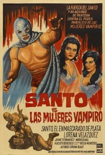 Santo Vs. As Mulheres Vampiro - Poster / Capa / Cartaz - Oficial 1