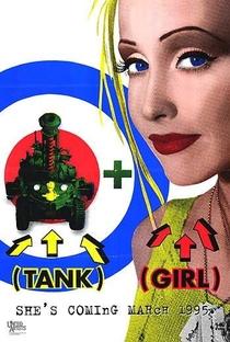 Tank Girl - Detonando o Futuro - Poster / Capa / Cartaz - Oficial 4
