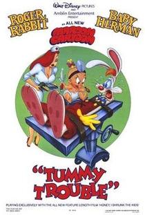 Roger Rabbit: Tummy Trouble - Poster / Capa / Cartaz - Oficial 1