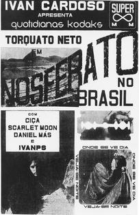 Nosferato no Brasil - Poster / Capa / Cartaz - Oficial 1
