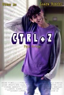 Ctrl+Z - Poster / Capa / Cartaz - Oficial 1