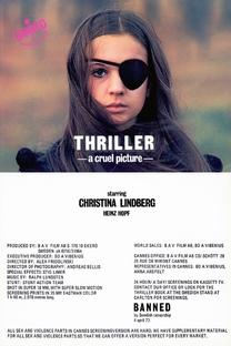 Thriller - Um Filme Cruel - Poster / Capa / Cartaz - Oficial 10