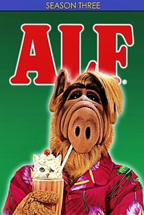 ALF, o ETeimoso (3ª Temporada) - Poster / Capa / Cartaz - Oficial 2