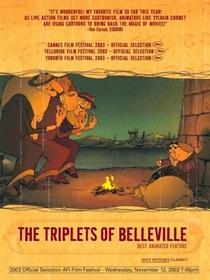 As Bicicletas de Belleville - Poster / Capa / Cartaz - Oficial 4