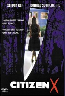 Cidadão X - Poster / Capa / Cartaz - Oficial 1