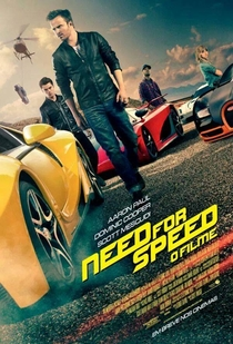 Need for Speed - O Filme - Poster / Capa / Cartaz - Oficial 1