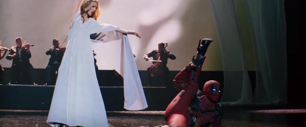 """Confira Deadpool estrelando no clipe """"Ashes"""" de Céline Dion"""