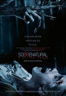 Sobrenatural: A Última Chave - Poster / Capa / Cartaz - Oficial 1