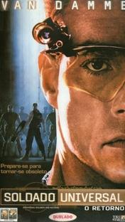 Soldado Universal: O Retorno - Poster / Capa / Cartaz - Oficial 3