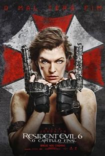 Resident Evil 6 - O Capítulo Final - Poster / Capa / Cartaz - Oficial 11