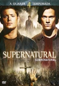 Sobrenatural (4ª Temporada) - Poster / Capa / Cartaz - Oficial 1