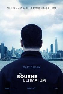 O Ultimato Bourne - Poster / Capa / Cartaz - Oficial 1