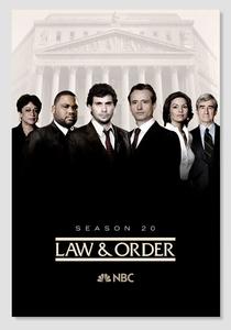 Lei & Ordem (20ª Temporada) - Poster / Capa / Cartaz - Oficial 1