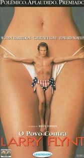 O Povo Contra Larry Flynt - Poster / Capa / Cartaz - Oficial 4