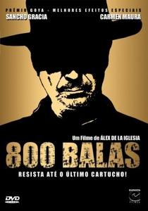 800 Balas - Poster / Capa / Cartaz - Oficial 1
