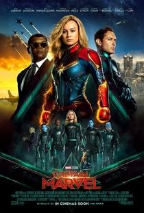 Capitã Marvel - Poster / Capa / Cartaz - Oficial 6