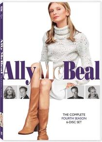Ally McBeal (4°Temporada) - Poster / Capa / Cartaz - Oficial 1