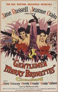 Cavalheiros se casam com Morenas - Poster / Capa / Cartaz - Oficial 1