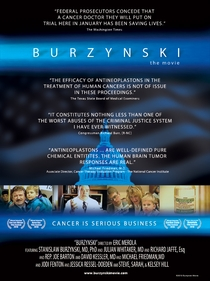 Burzynski, O Filme - Câncer é um Negócio Sério - Poster / Capa / Cartaz - Oficial 1