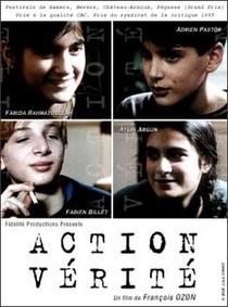 Action Vérité - Poster / Capa / Cartaz - Oficial 1