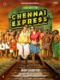 Chennai Express - Poster / Capa / Cartaz - Oficial 3