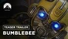 Bumblebee | Teaser Trailer | LEG | Paramount Pictures Brasil