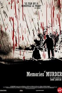 Memórias de um Assassino - Poster / Capa / Cartaz - Oficial 11