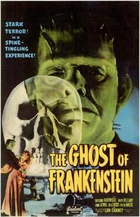 O Fantasma de Frankenstein - Poster / Capa / Cartaz - Oficial 1